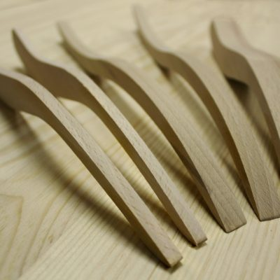 Wooden jointing spatulas